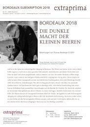Extraprima Bordeaux 2018 Subskription Bestenlisten nach Bewertungen