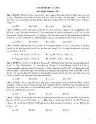 Ngân hàng bài tập trắc nghiệm Hóa Học 12 chọn lọc theo chuyên đề và mức độ (NB - TH - VD - VDC) Có lời giải chi tiết