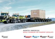 SCHEUERLE North America brochure - heavy-duty transport