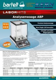 Laborhit Analysenwaage ABP KERN