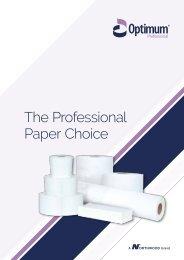 Optimum Professional Brochure - Northwood Hygiene Products