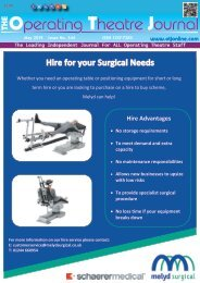 The Operating Theatre Journal May 2019