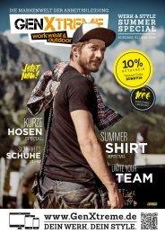 GenXtreme - Werk und Style Magazin 2019 Nr. 3 - SUMMER SPECIAL