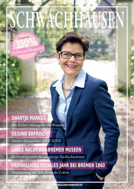SCHWACHHAUSEN Magazin | Mai - Juni 2019