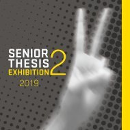 Senior Thesis II Catalogue 2019