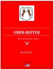 Uber-Reiter Spring 2019 Catalog