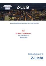 Z-Licht Bildpreisliste Schweiz 2019