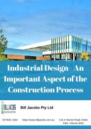 Industrial Design Melbourne