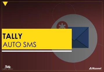 Tally Auto SMS