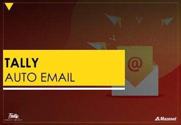 Tally Auto Email