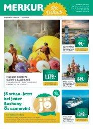 Merkur Ihr Urlaub Reiseprospekt Mai 2019