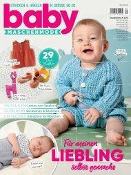 Baby Maschenmode Nr. 39/2019 - Blick ins Heft