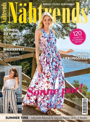 Nähtrends Nr. 4/2019 - Blick ins Heft