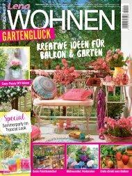 Lena Wohnen  Gartenglück (LE015) Blick ins Heft
