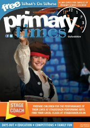 Primary Times Oxfordshire May edition