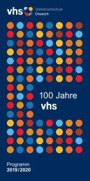 VHS_Programmheft 2019:2020