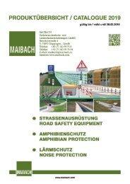Maibach VuL Produktübersicht - Catalogue 2019