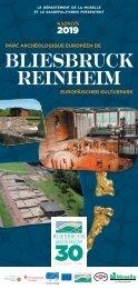 Veranstaltungsbroschüre Europäische Kulturpark Bliesbruck Reinheim