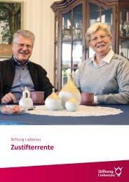 Stiftung Liebenau - Zustifterrente