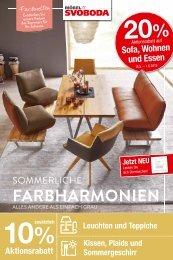 Sommerliche Farbharmonien