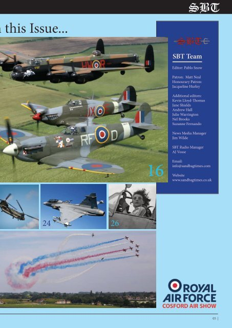 SBT Cosford Air Show Special