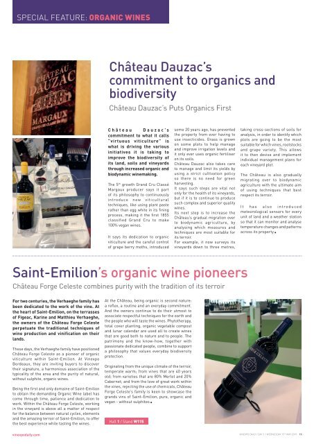 Vinexpo Daily 2019 - Day 3 Edition