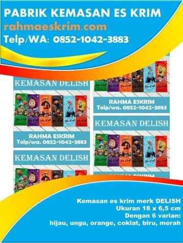 Telp/WA: 0852-1042-3883 Agen Plastik Es Krim Bolaang Mongondow, Sulawesi