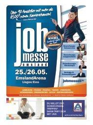 Der Messe-Guide zur 12. jobmesse emsland