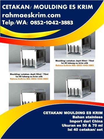 Telp/WA: 0852-1042-3883 Bungkus Plastik Es Krim Stik Minahasa, Sulawesi