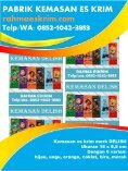 Telp/WA: 0852-1042-3883 Bungkus Plastik Es Krim Stik Minahasa, Sulawesi - Page 3