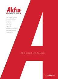 Akfix Product Catalogue EN