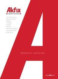 Akfix Product Catalogue EN