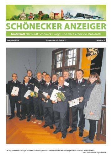 Schönecker Anzeiger Mai 2019