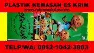 Telp/WA: 0852-1042-3883 Agen Plastik Es Krim Aceh