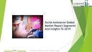 Social Assistance Global Market Report 2019