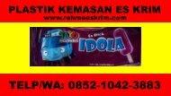 Telp/WA: 0852-1042-3883 Bungkus Plastik Es Krim Bener Meriah, Aceh