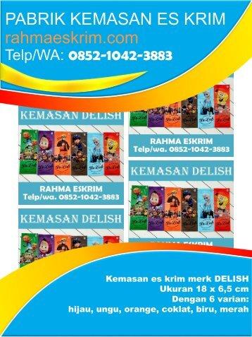 Telp/WA: 0852-1042-3883 Agen Plastik Es Krim Balangan Kalimantan