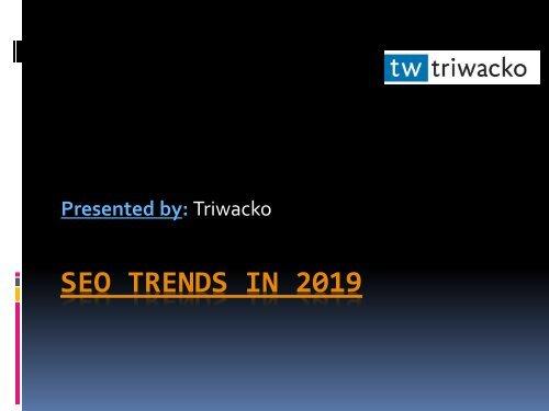 SEO Trends In 2019-PDF