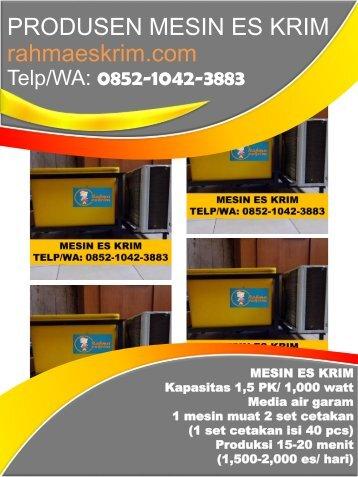 Telp/WA: 0852-1042-3883 Bungkus Plastik Es Krim Balikpapan Kalimantan