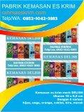 Telp/WA: 0852-1042-3883 Bungkus Plastik Es Krim Stik Banjar Kalimantan - Page 3