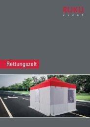 RUKUevent Katalog Sanitätszelt - 05/2019