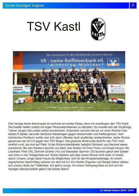 fc aktuell Saison 2018-19 Ausgabe 17