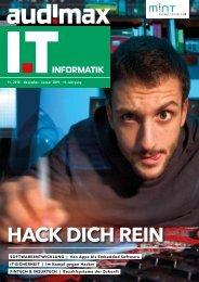 audimax I.T 11/2018 - Karrieremagazin für ITler