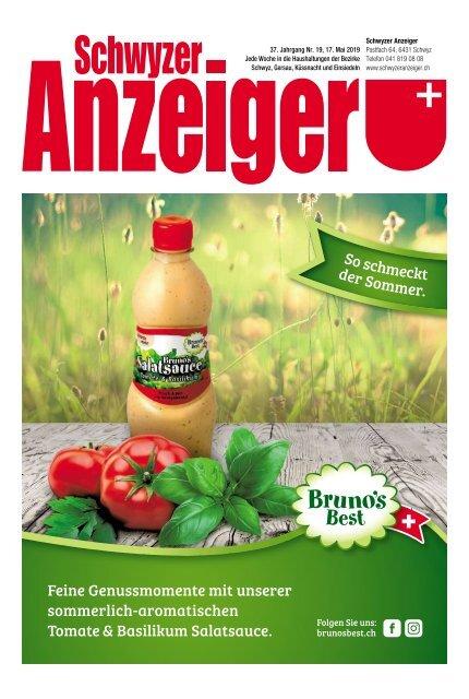 Schwyzer Anzeiger – Woche 20 – 17. Mai 2019