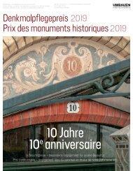 Denkmalpflegepreis 2019