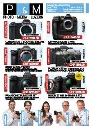 P&M PHOTO MEDIA Luzern - Unsere Broschüre Mai Juni Juli 2019