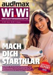 audimax Wi.W 2/3/2019 - Karrieremagazin für Wirtschaftswissenschaftler