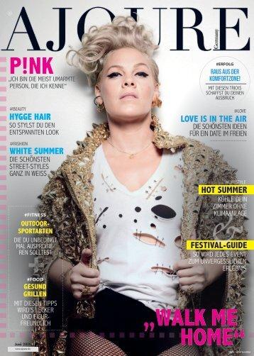 AJOURE´ Magazin Juni 2019