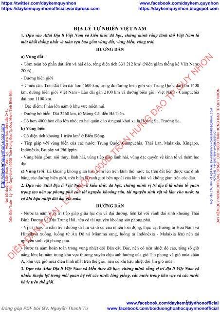 Bộ câu hỏi bài tập kĩ năng Atlat Địa Lí Việt Nam (có lời giải chi tiết)