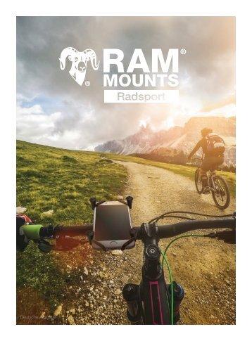 RAM Mounts Radsport Katalog DEUTSCH